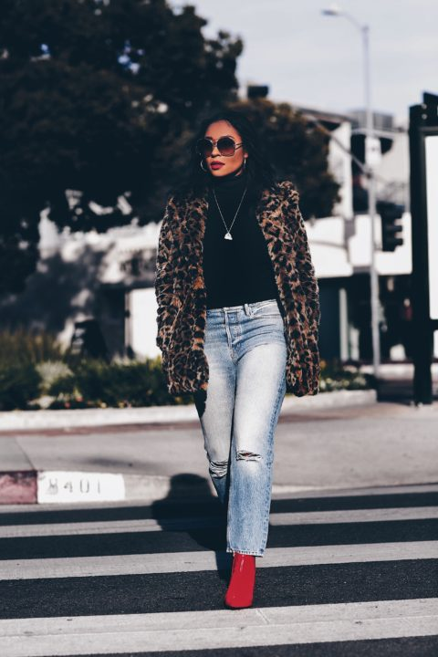 Leopard Print Coats: Must-Have
