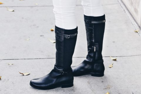 Equestrian chic in The Perfect Riding Boot: Aetrex