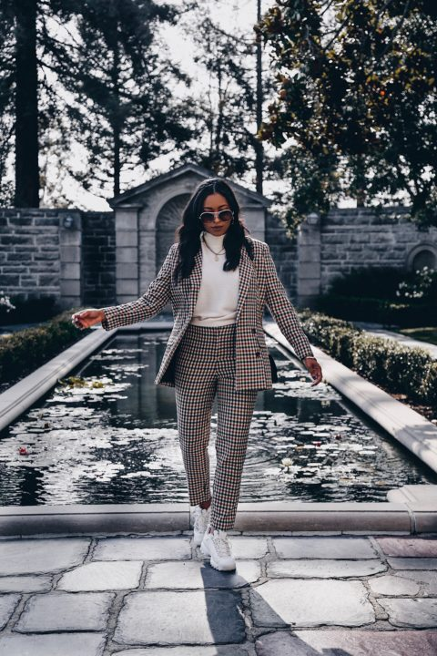 Tailored Check Suit : ASOS DESIGN